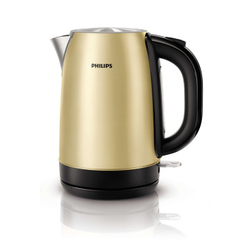 Philips 1.7L 2100w Rust Proof Stainless Steel Kettle in Campagne Metal - 5