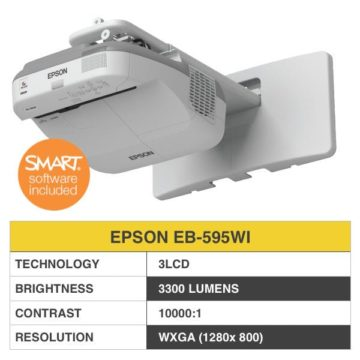 EPSON EB-595WI Projector