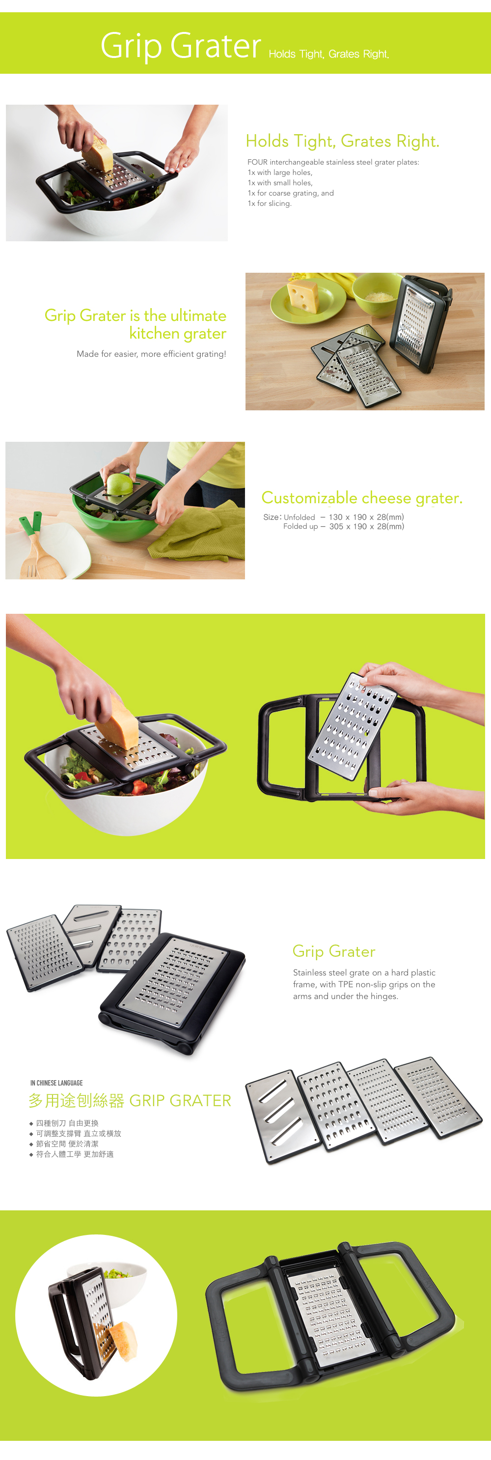 Quirky Cheese Grater