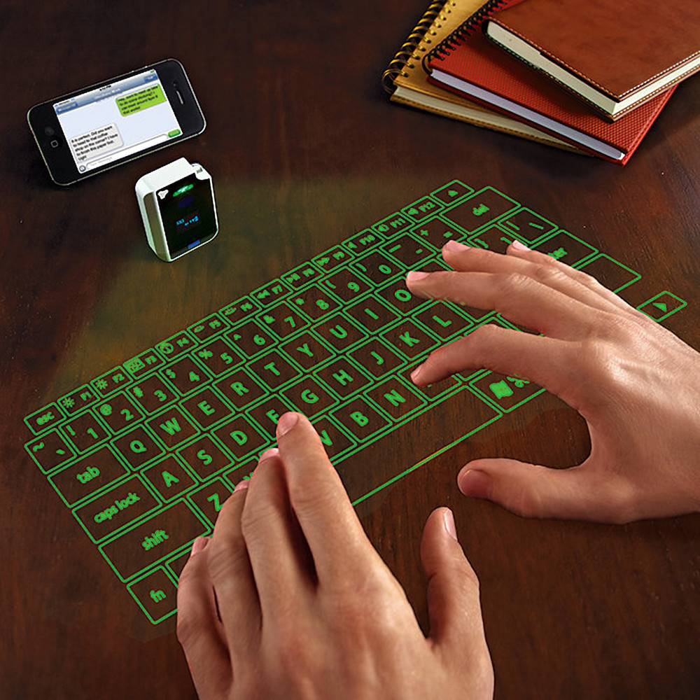 VK200 Keyfob Virtual Laser Keyboard | DHAUSE
