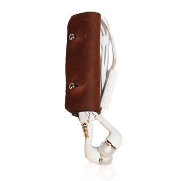 Pinomu Premium Earphone Cord Wrap (Leather)