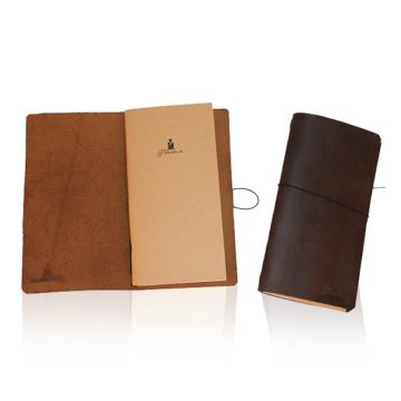 Pinomu Leather Notebook