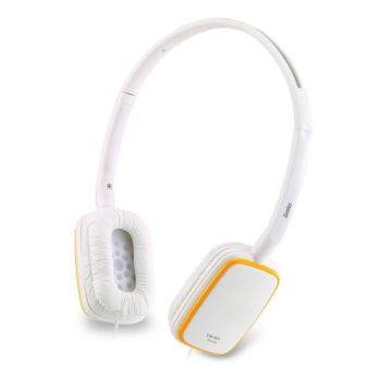 Genius GHP-420S  Portable and Stylist Headphone White