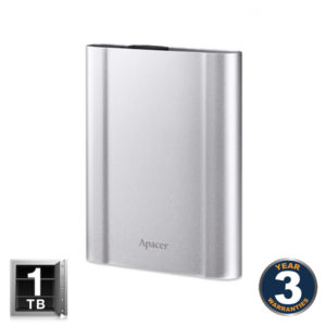 APACER AC730 Military-Grade Shockproof USB 3.1 Gen 1 1TB External Hard Disk