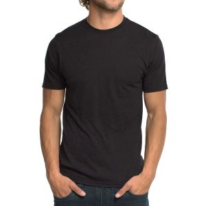 KARUNA Organic Bamboo Men T-Shirt - Black