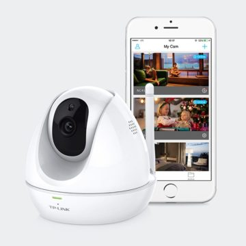 TP-Link Malaysia Wi-Fi Camera HD Pan:Tilt WITH NIGHT VISION NC450